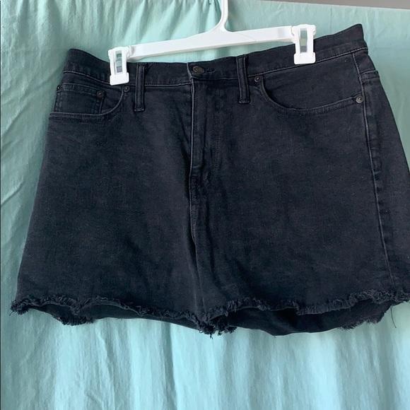 Madewell Pants - Madewell highwaisted shorts